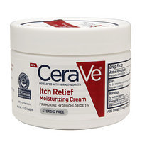 CeraVe Itch Relief Moisturizing Cream, 12 oz