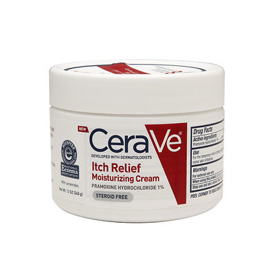 CeraVe Itch Relief Moisturizing Cream, 12 oz