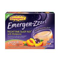 Emergen-C Emergen-zzzz Nighttime Sleep Aid with Melatonin – Peach