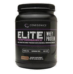 Cenegenics - Elite Performance Whey Protein Chocolate - 20.85 oz.