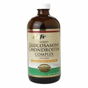 Lifetime Liquid Glucosamine Chondroitin Complex Tropical - 16 fl oz