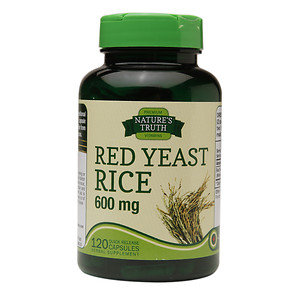 Nature's Truth Red Yeast Rice 600mg, 120 ea