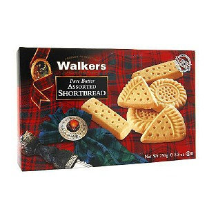 Walker's Walkers Shortbread Pure Butter Assorted Shortbread, 8.8 oz