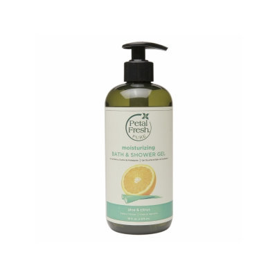 Petal Fresh Pure Bath & Shower Gel, Aloe & Citrus, 16 fl oz