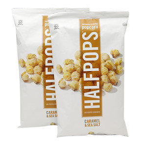 Halfpops Popcorn Caramel & Sea Salt 6 oz
