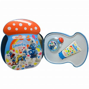 First American Brands K-GS-1963 The Smurfs Gutsy - 2 pc - Gift Set