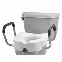 Nova Ortho-Med, Inc. Raised Toilet Seat with Detachable Arms
