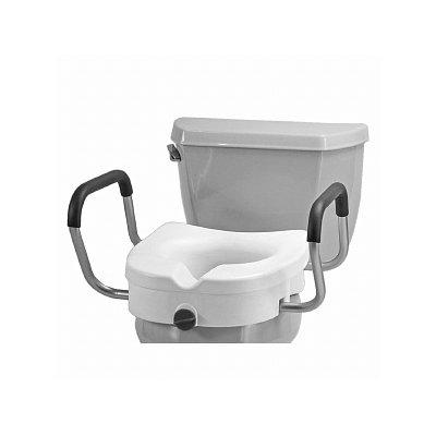 Nova Ortho-Med, Inc. Raised Toilet Seat with Detachable Arms