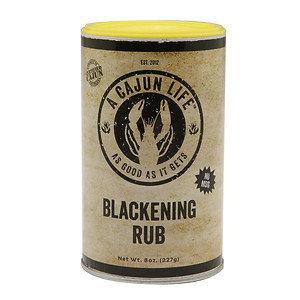 A Cajun Life Rub, Blackening, 8 oz
