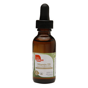 Zahler Vitamin D3 Liquid 1000IU, 1oz Dropper
