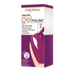 Sally Hansen Salon Gel Polish, Polished Purple, .25 oz