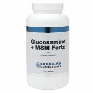 Douglas Labs Glucosamine + MSM Forte 250 caps