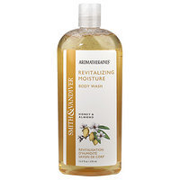 Smith & Vandiver Aromatherapaes Body Wash, Revitalizing Moisture, Honey & Almond, 12.5 oz