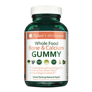 Natures Dynamics Nature's Dynamics - Body Boost Bone & Calcium Whole Food Gummy - 90 Gummies