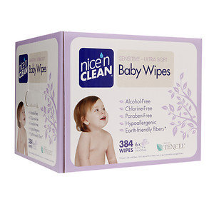 nicenCLEAN Baby Wipes Sensitive, Unscented
