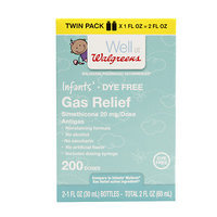 Walgreens Infants' Gas Relief, Twin Pack, 1 oz