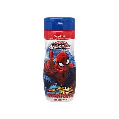 Marvel Ultimate Spider-Man Superpower Punch Bubble Bath, 24 fl oz