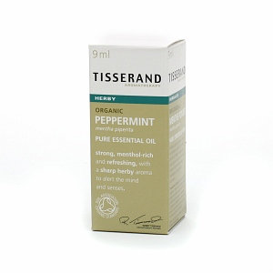 Tisserand Aromatherapy Organic Pure Essential Oil Peppermint