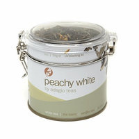 Adagio Teas Loose White Tea Tin Tea Peachy White