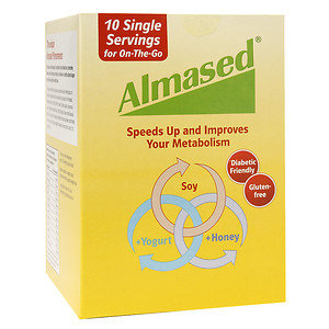Almased All Natural Diet Shake Packets, 10 ea