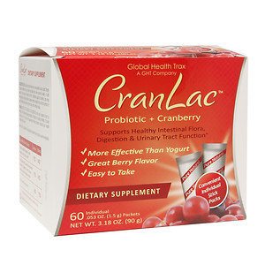 CranLac Probiotic + Cranberry Stick Packs, 60 ea