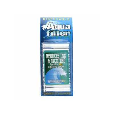 Aqua Filter Disposable Water Filtered Holders, 10 ea