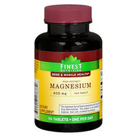 Finest Nutrition Magnesium 400 mg, 90 ea
