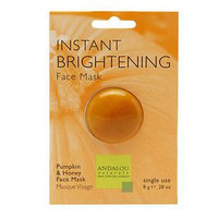 Andalou Naturals Instant Brightening Face Mask, 0.28 Oz