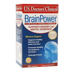 U.s. Doctor's Clinical U.S. Doctors' Clinical BrainPower Advanced, 60 ea