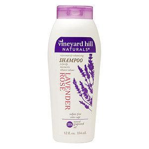 Vineyard Hill Naturals Shampoo, Lavender Rose, 12 oz