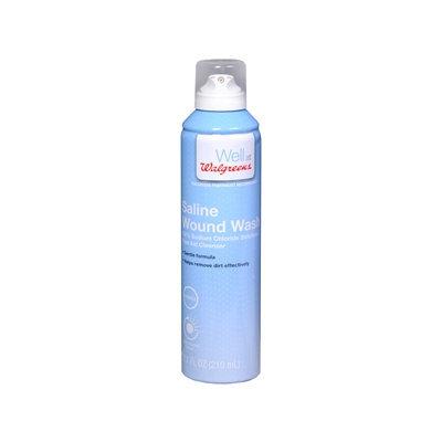 Walgreens Saline Wound Wash, 7.1 fl oz