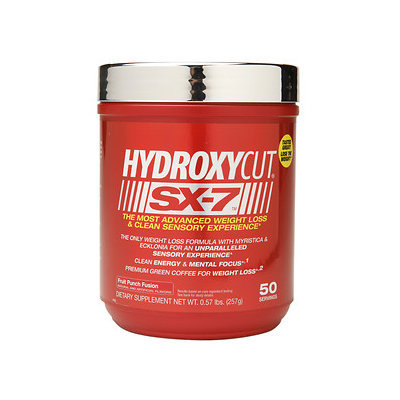 Muscletech Hydroxycut(tm) SX-7(tm) - Thermogenic Powder - Fruit Punch Fusion