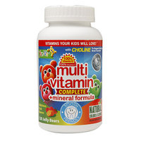 Yum V's Yum-V's Multivitamin Complete + Mineral Formula Jellies, Fruit, 120 ea