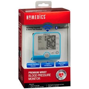 Homedics BPW-370BT Premium Wrist Blood Pressure Monitor w/ Bluetooth