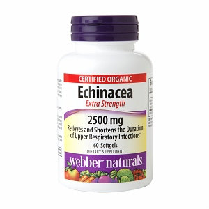 Holista Webber Naturals Extra Strength Echinacea 2500mg Softgels