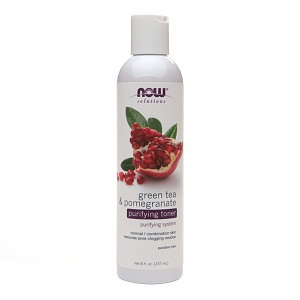 NOW Foods - Green Tea and Pomegranate Purifying Toner - 8 oz.