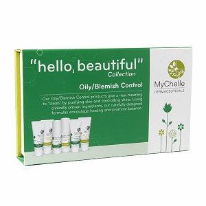 MyChelle Dermaceuticals - Hello Beautiful Trial Set Collection Oily/Blemish Control