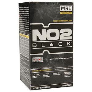 MRI NO2 Black, Caplets, 300 ea