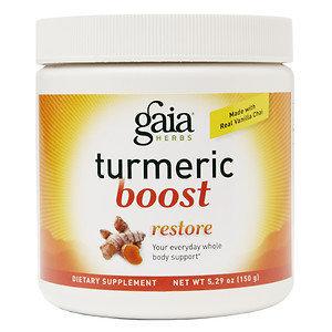 Gaia Herbs Turmeric Boost Restore Powder, 5.29 oz