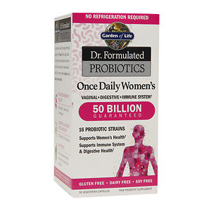 Dr. Formulated Probiotic - Once Daily Women's 50 Billion Garden of Life 30 Caps
