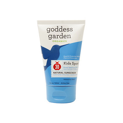 GODDESS GARDEN Kids' Sport Natural Sunscreen SPF 30 - 3.4 fl. oz.