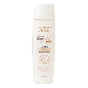 Avene Mineral Light Hydrating Sunscreen Lotion, Face & Body SPF 50+, 4.2 oz