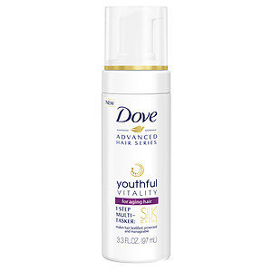 Dove Advanced Hair Series Youthful Vitality Silk Creme