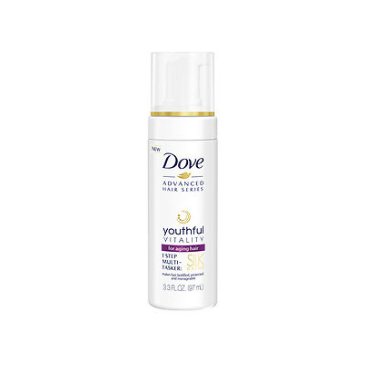 Dove Youthful Vitality Silk Creme for Aging Hair, 3.3 oz