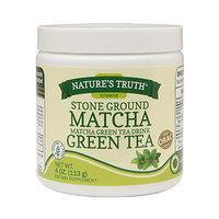 Nature's Truth Stone Ground Matcha Green Tea, 4 oz
