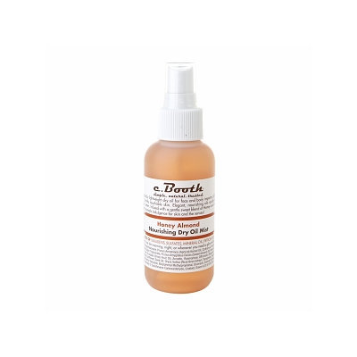 c. Booth Honey Almond Dry Oil Mist 4 oz