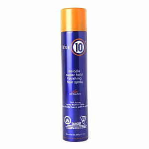 It's A 10 Miracle Super Hold Finishing Hair Spray Plus Keratin