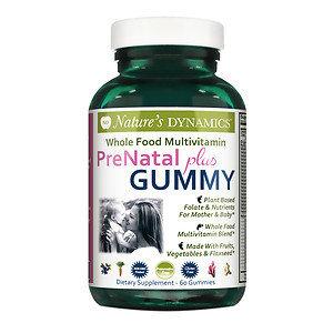 Natures Dynamics Nature's Dynamics - PreNatal Plus Organic Whole Food Gummy - 90 Gummies