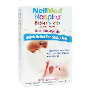 NeilMed Naspira Nasal-Oral Aspirator, 1 ea