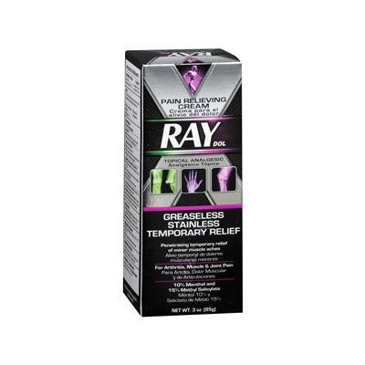 X Ray Dol Pain Relieving Cream, 3 oz